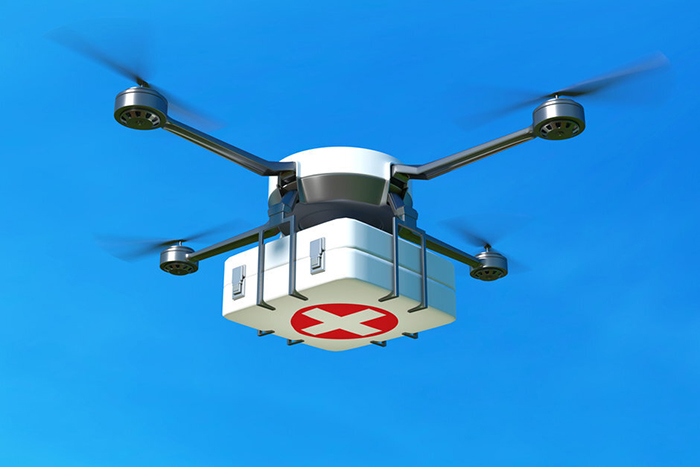 Increase in use of drones for drug delivery